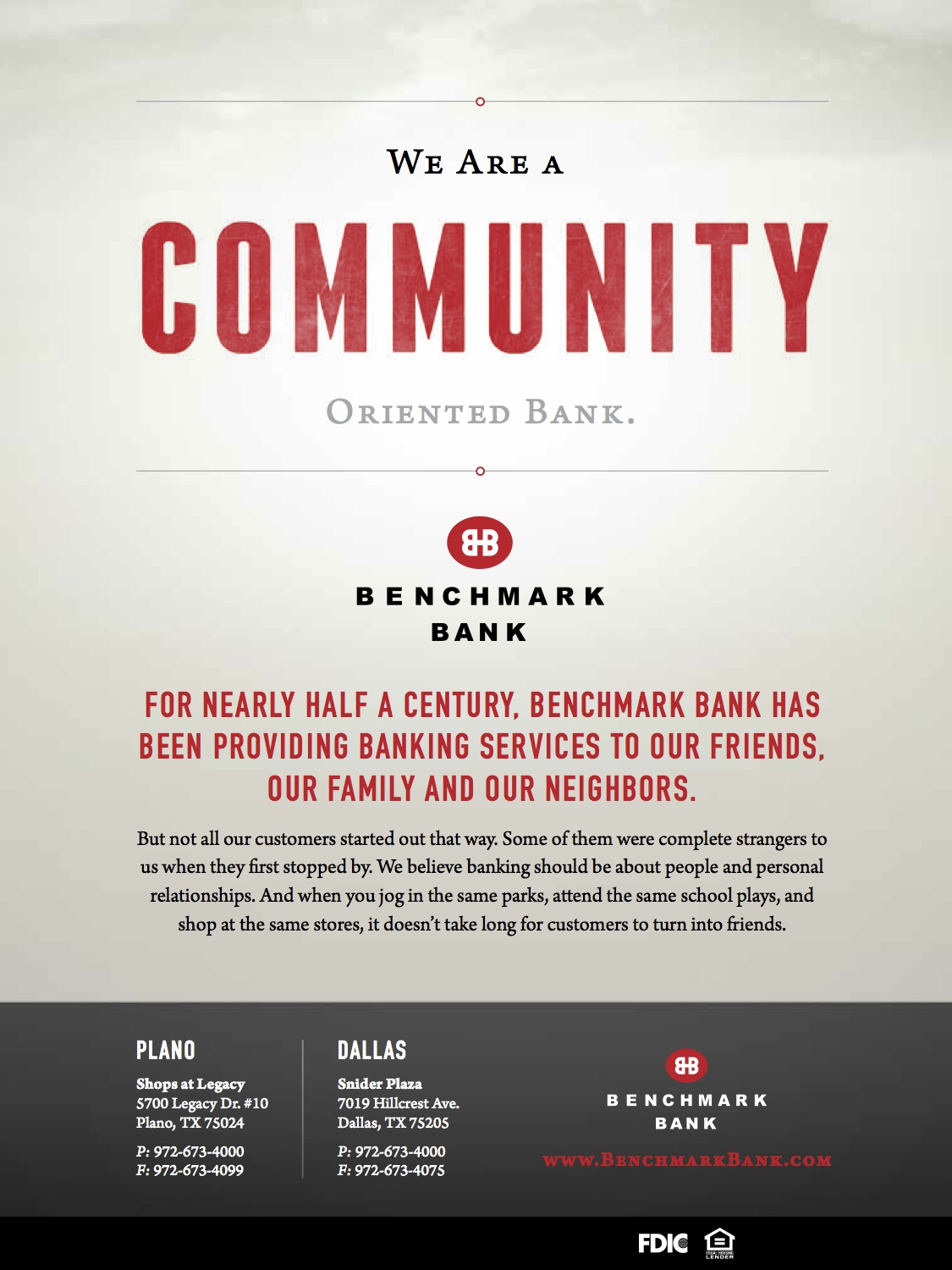 Benchmark Bank Matt Fry Digital Marketing And Design
